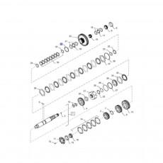 Linka gazu ręcznego Case JX100U JX70U JX80U JX90U New Holland TL100 TL65 TL70 TL80 TL90 Fiat L60 L65 L75 L85 L95 Ford 4635 483