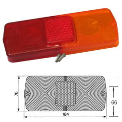 Klosz lampy tył Massey Ferguson Ford New Holland TD 8530, 8630, 8730, 8830 David Brown