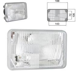 ELE1007 Wkład lampy przedni P/LDavid Brown, 1190, 1290 1594, 1694, Case 844 1255 XL, 1455 XL 1056 XL, 856, 856 XL, 956 XL