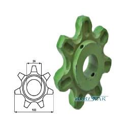 CE02-503030 Zębatka 7Z fi26mm