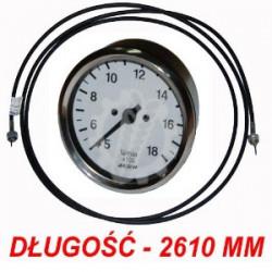 CM99-632180+653025 Licznik obrotów + linka 2610mm