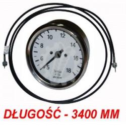 CM99-632180+655025 Licznik obrotów + linka 3400mm