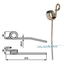JM02-AZ47217 Para cepów 1648mm