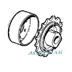 JP02-Z11544 Zębatka przenośnika pochyłego Z 14 fi 40mm