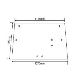 3714416M2 Mufa tuleja łącznik wału przedniego napędu kardana Massey Ferguson: 3635, 3645, 3655, 3670, 3690, 6290, 8110, 8120, 81