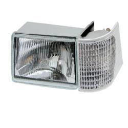 ELE1010 Lampa przednia L Case IH MX100, MX110, MX120, MX135, MX150, MX170,  Mc Cormick MTX 178318A1