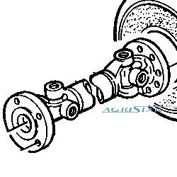 wał Wałek napędowy silnik-skrzynia John Deere 6200, 6300, 6400, 6500 AL77610