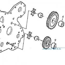 Tulejka sworznia zawieszenia osi case mx100 cvx claas renault ares 83930554, 9967992, CAR101575/1, k965265, 6000103219
