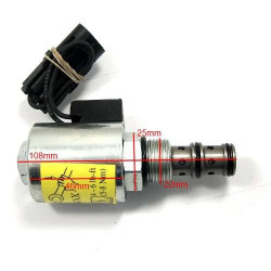 Elektrozawór powershift, przedni WOM rewers case maxxum 5120 5130 5140 5150 5220 5230 5240 5250 mx 100 mx135 mx170 118872a1