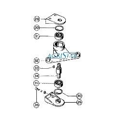 SWA5106 Tulejka wałka balansującego