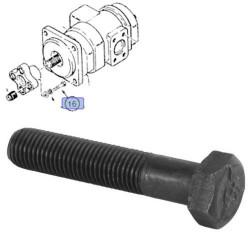 HYD1913 śruba flanszy łącznika pompy, hydraulicznej, case, 580 580K 580SK 580L 590L 580LE 580SLE 590LPS 590SP 580M 580SM