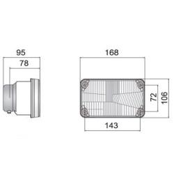 ELE5049 Włącznik dmuchawy , klimatyzacji