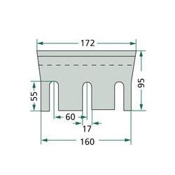SUS2040 Uszczelka głowicy 1,1mm