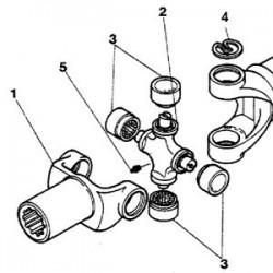 SCY3029 Tłok kpl. 4 pierścienie