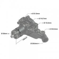 HYD7036 Sprzęgło hydrokinetyczne Case-580F, 580G