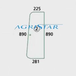AKK2203 Szyba drzwi XL P/L