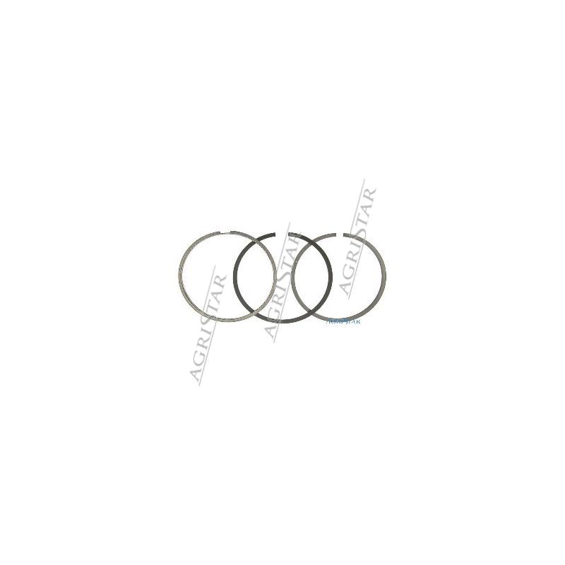 SCY4037 Pierścienie kpl 102mm 2,38+2,34+3,97mm Case bez TURBO  580K, 580SK, 580LE, 580M 1840, 1845