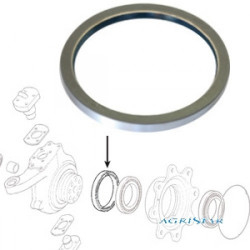 PON1204 Uszczelniacz piasty koła 149,9x176x16mm