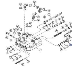 SPR5709 Zestaw uszczelnień tłoczka wysprzęglika