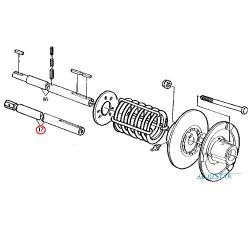 SCY5707 Podkładka dystansowa tulei 0,1mm