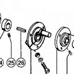 LIN1411 Linka tachometru licznika 650mm