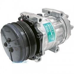 sprężarka klimatyzacji kompresor Case MAXXUM 130 140  MXU PUMA 155 New Holland T6060 T6070 Steyr PROFI 877097 sanden SD7H15-8028