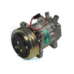 Kompresor Sprężarka klimatyzacji New Holland TF42, TF44, TR86, TR96, TX30, TX32, TX34, TX36 Case 1255XL, 1455XL 1056XL, 956XL sa