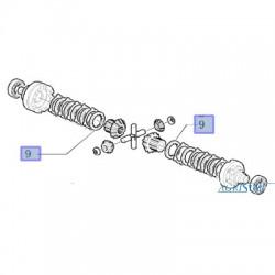 SPR2651 Tarczka zewnętrzna sprzęgła mechanizmu różnicowego