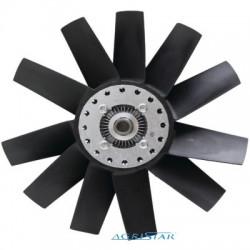 VISCO Wentylator chłodnicy CAse jx90 jx95 Quantum New Holland TD5030, TD5040, TD5050 TD 95 TN TL 90 100  47135806