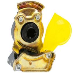 HAM5301 Złączka pneumatyczna żółta M22x1,5