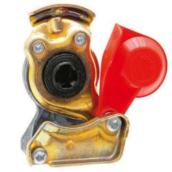 HAM5303 Złączka pneumatyczna czerwona M22x1,5