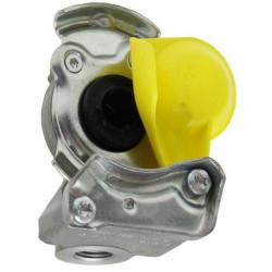 HAM5304 Złączka pneumatyczna żółta M16x1,5