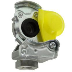 HAM5402 Złączka pneumatyczna żółta M16x1,5