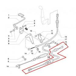 LIN1232 Linka gazu ręcznego