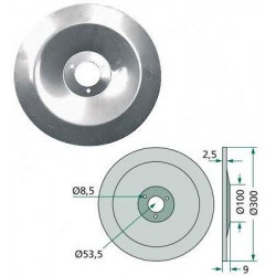 AM-3386400 Talerz redlicy 300mm