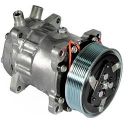 Kompresor Sprężarka klimatyzacji Sanden SD7H15 Case MXM120, MXM130, MXM135 MXM180, MXM190 New Holland 8160 8560, TM115 TM165