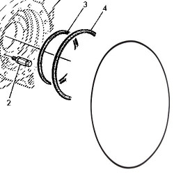Oring cylindra hamulcowego John Deere 2040 2140 3140 1840 1850 2550 2850 6100 6200 6400 6600 6800 6800 6810