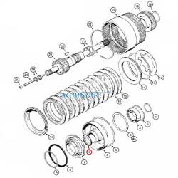 SKR7033 Pierścień uszczelniający