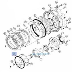 SKR7034 Pierścień uszczelniający pompy jazdy
