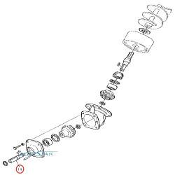 JI09-Z61820 Wałek przekładni kątowej