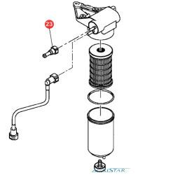 Wtyczka Złączka przewodów paliwowych pompki paliwa perkins JCB TEREX Manitou Massey Ferguson Farmtruck