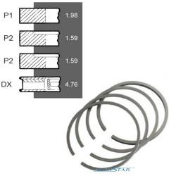 SCY4058 Pierścienie 79,38mm 1,98+1,59+1,59+4,76mm