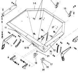 Linka gazu ręcznego 166cm Deutz Fahr AgroXtra 3.57, AgroXtra 4.07 4.17 6.06, DX6.07, DX6.16, DX6.17 04354878