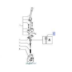 HYD7088 Zestaw naprawczy tłoczka rozdzielacza
