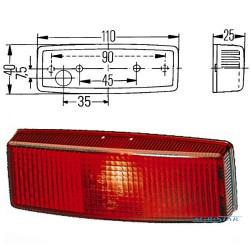 ELE1261 Lampa tylna