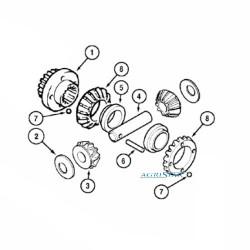 PON4001 Kpl. układ różnicowy