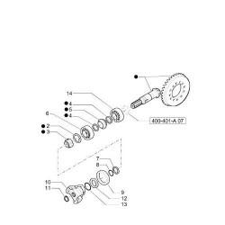 PON1688 Oring tylnego wału napędowego