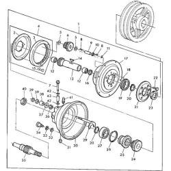 JA06-AH141550 Wałek rewersu