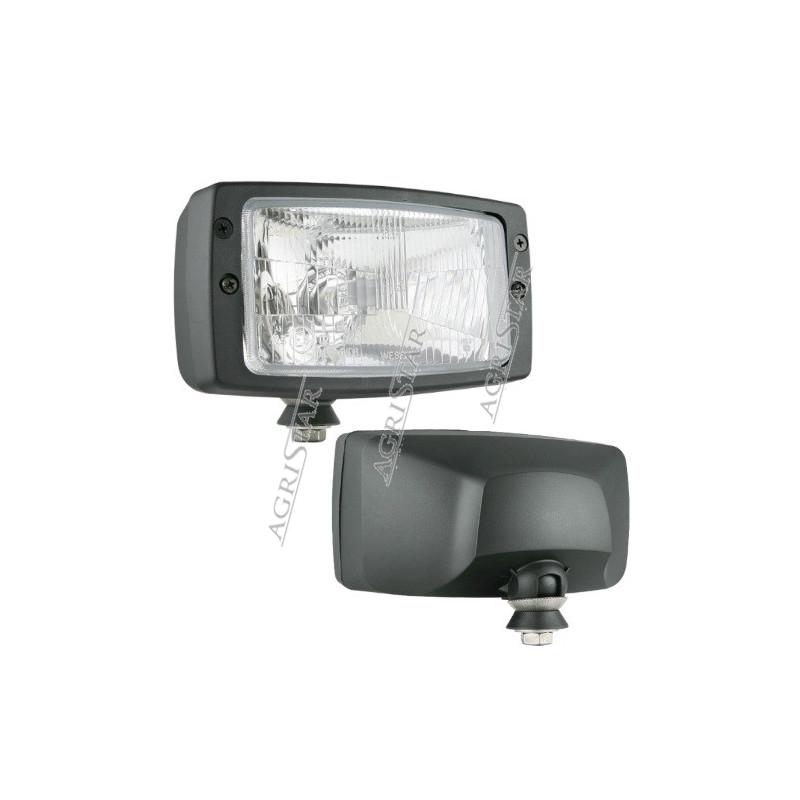 ELE1045 Lampa przednia drogowa John Deere 7600 8100, 8100T, 8200, 8200T, 8300, 8300T, 8400, 8400T  RE154900 , RE154898