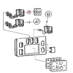 ELE5148 Włącznik świateł roboczych
